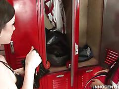 Horny teacher bonks a cute schoolgirl in the classroom